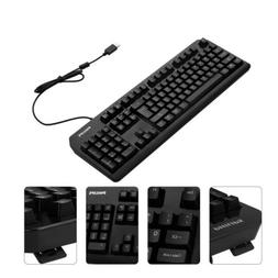 104 keys usb wired gaming keyboard mechanical