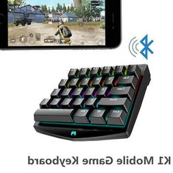 28-Key One Single Hand Bluetooth Wireless Gaming Mechanical
