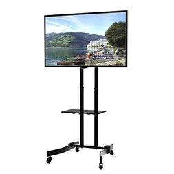 KRIEGER KMC370 Mobile TV Stand / Rolling monitor trolley wit