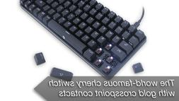 DREVO 84-Key Cherry Excalibur Metal Mechanical Gaming Keyboa