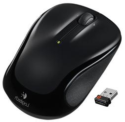 Logitech M325 Wireless Mouse for Web Scrolling - Black
