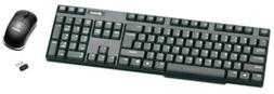 ProHT 2.4Ghz Wireless Optical Mouse/Keyboard Combo , 104 key
