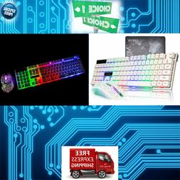 All IN ONE Gaming Keyboard Mouse Combo PRO KIT LED For iMac