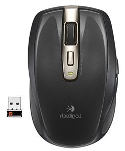Anywhere Mouse MX, Wireless, Glossy Finish, Black