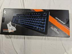SteelSeries Apex 100 Gaming Keyboard - Tactile & Silent - Bl