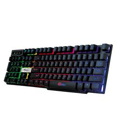 backlit gaming keyboard adjustable 3 colors led