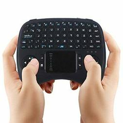 iPazzPort Backlit Wireless Mini Keyboard /Touchpad for Raspb