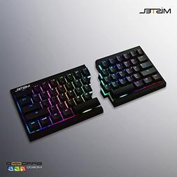 Mistel Barocco Ergonomic Split PBT RGB Mechanical Keyboard w