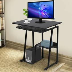 Minimalism Computer Desk Laptop Study/Office Desk With Pullo