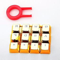 E-Element Keycaps Doubleshot PBT Keycaps with White infill T
