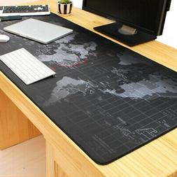 Extended Gaming Mouse Pad Large Size Desk Keyboard Mat Absor