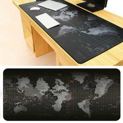 Extra Large Mouse Pad Old World Map Gaming Keyboard Mats Com