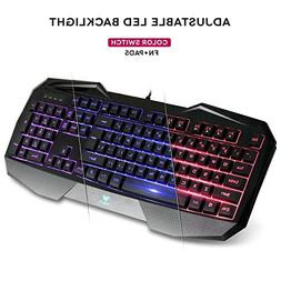AULA BE FIRE SI-859 LED Backlight USB Wired Optical Gaming K