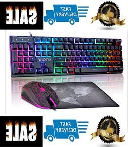 Fortnite Gaming Keyboard Mouse Set Adapter for PC PS4 Xbox O