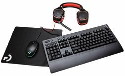 Logitech G Gear UP Gaming Bundle Gaming Grade Mouse, Keyboar