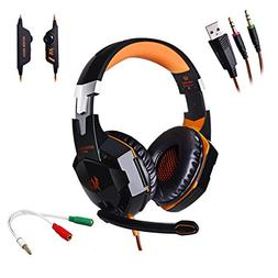 AFUNTA G2000 Stereo Gaming Headset for PS4 PC with Mic,KOTIO