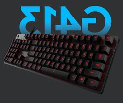 G413 Carbon / Silver Mechanical Gaming Keyboard