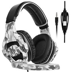 Xbox one/PS4 Gaming headset, SADES Stereo Gaming Headphones