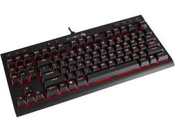 Corsair Gaming K63 Compact Mechanical Keyboard, Backlit Red