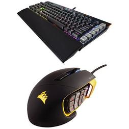 Corsair Gaming K95 RGB PLATINUM Mechanical Keyboard, Cherry