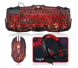 Gaming Keyboard and Mouse ComboGaming Mouse and Keyboard USB
