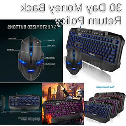 TeckNet Gaming Keyboard and Mouse Gryphon Pro LED Backlit Il