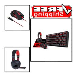 Gaming Keyboard and Mouse, Large Mouse Pad, PC Gaming Headse