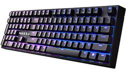 Gaming Keyboard Mechanical RGB Backlit Blue Switches Water-R