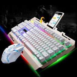 Gaming Keyboard Mouse Combo Backlight for PS4, PS3 Xbox One