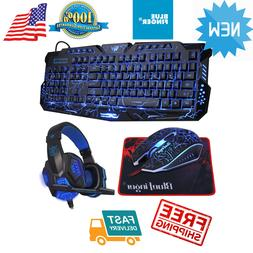 Gaming Keyboard Mouse Set Adapter for PC PS4 PS3 Xbox One Xb