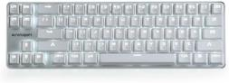 Gaming Keyboard Switch Wired Backlit Mechanical Mini Design