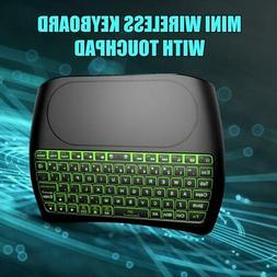 Gaming Keyboards Wireless Mini Air Mouse Touchpad Controller