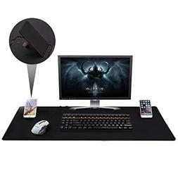 "Large Extended Gaming Mouse Pad XXL, Vogek Thick Large 34""x2"