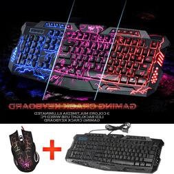 gaming wireless 2 4g keyboard and mouse