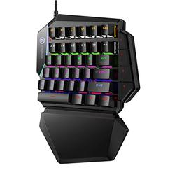 GameSir GK100 One Handed Gaming Keyboard Mechanical mini Gam