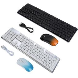 GLK350 2.4GHz Rechargeable Wireless Backlit Gaming Keyboard