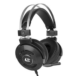 Redragon H991 TRITON Wired Active Noise Canceling Gaming Hea