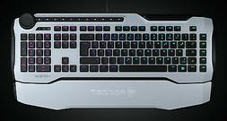 Roccat Horde AIMO Membranical RGB Gaming Keyboard White ROC-