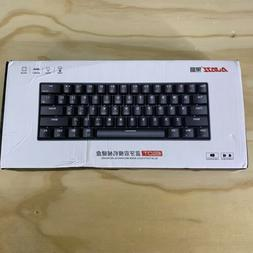 Ajazz i610T USB Wired Gaming Keyboard 61 Keys Mechanical Red