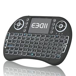 Rii i8  Mini 2.4GHz Wireless Touchpad Keyboard with Mouse, B