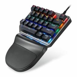 Motospeed K27 Mechanical Gaming Keyboard One-Hand USB 27Keys