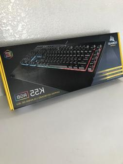 Corsair K55 RGB Backlit Gaming Keyboard- Dynamic Multi Color
