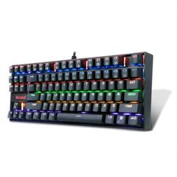 Redragon K552-R Mechanical Gaming Keyboard 87 Keys Rainbow B