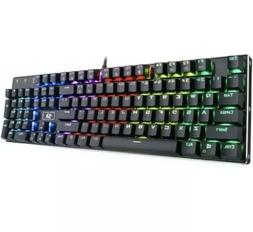Redragon K556 RGB LED Backlit Wired Mechanical Gaming Keyboa