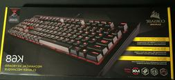 Corsair K68 Cherry MX RED Switch Backlit RGB Wired Mechanica