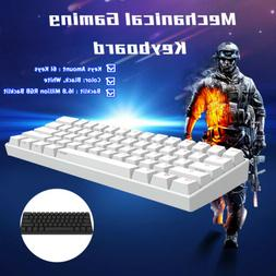 60% NKRO bluetooth 4.0 Type-C RGB Mechanical Gaming Keyboar