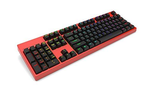 Keycool 104 2018 Gaming Keyboard Gateron Brown Swtiches