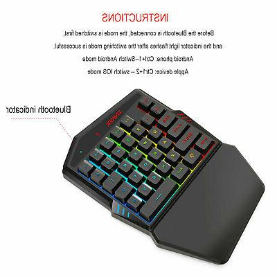 Bluetooth4.2 Gaming Mouse