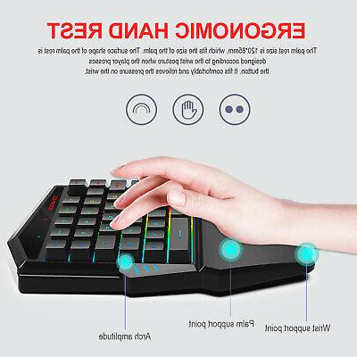 Bluetooth4.2 Gaming Mouse Set for Phone/Tablet