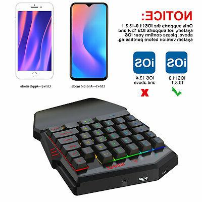 Bluetooth4.2 Hand Gaming Set for Smart Phone/Tablet